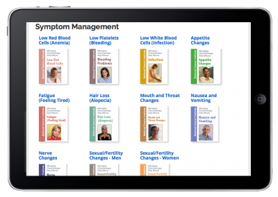 "Web App ""Prescriptions for Learning"" – Patient Prescription View – Symptom Management"
