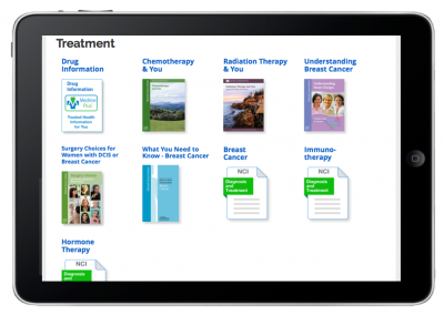 "Web App ""Prescriptions for Learning"" – Patient Prescription View – Treatment"